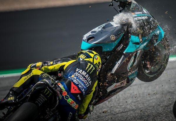 Rossi entging Katastrophe