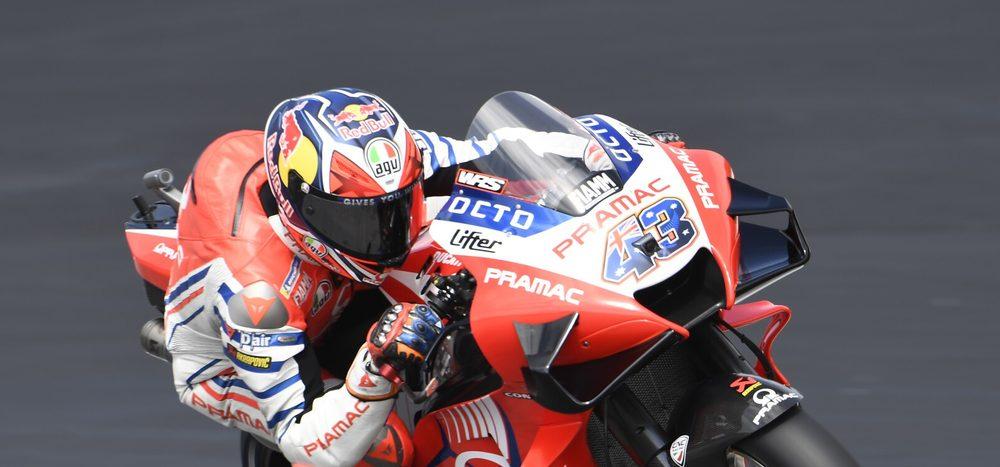 FP1 MotoGP Spielberg 2: Doppelspitze für Ducati mit Jack Miller vor Dovi