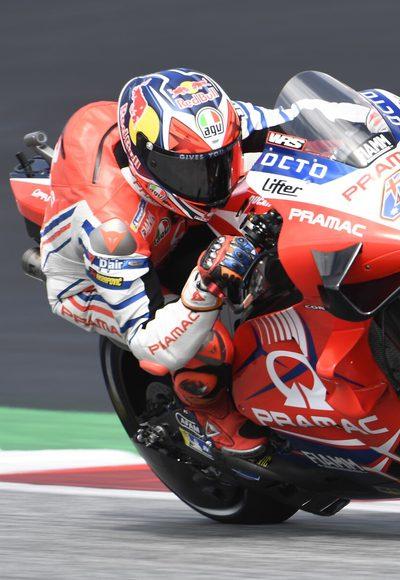 FP1: Ducati legt vor