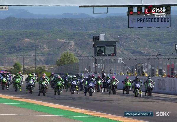 Aragon 1: SSP300 Rennen 1