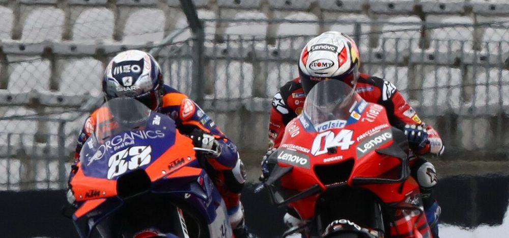 "Dovizioso: ""KTM ist ein seltsames Motorrad"""