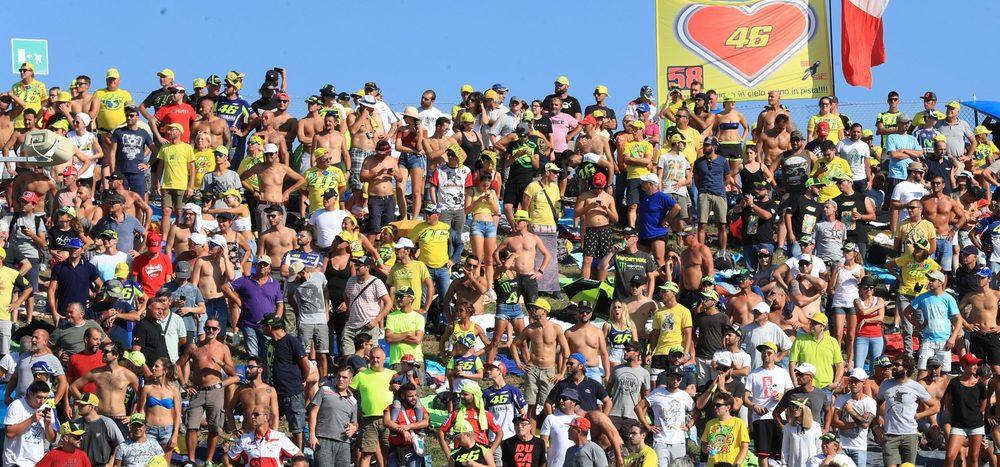 Zurück zur Normalität: 10.000 MotoGP-Fans in Misano