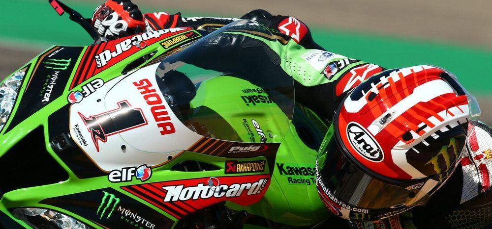 WSBK Aragon 2: Jonathan Rea auf Pole, zwei Ducatis in Reihe eins