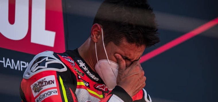 """Italiens Superbike-Hoffnung Rinaldi: """"SMS von Rossi macht mich stolz"""""""