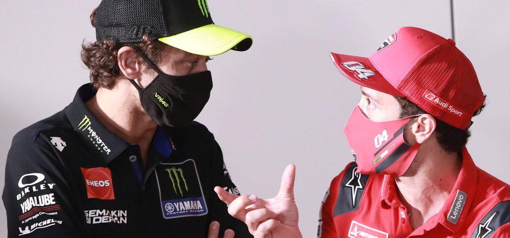 Andrea Dovizioso statt Valentino Rossi zu Petronas-Yamaha?