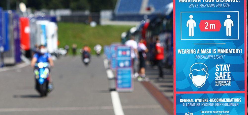 Steigende Corona-Zahlen: MotoGP pocht auf Sicherheits-Protokoll