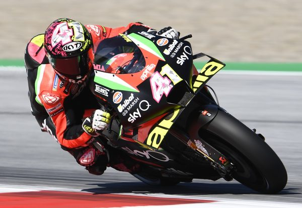 FP1: Beide Aprilia in Top 5