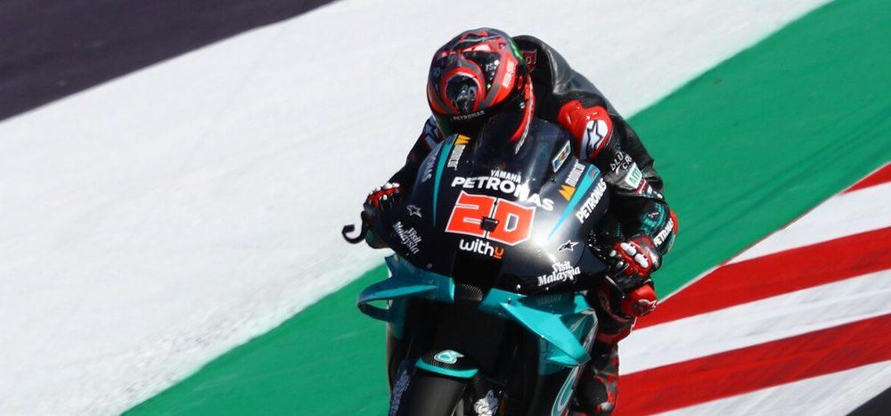 FP2 MotoGP Misano: Yamaha-Dreifachführung am Freitag