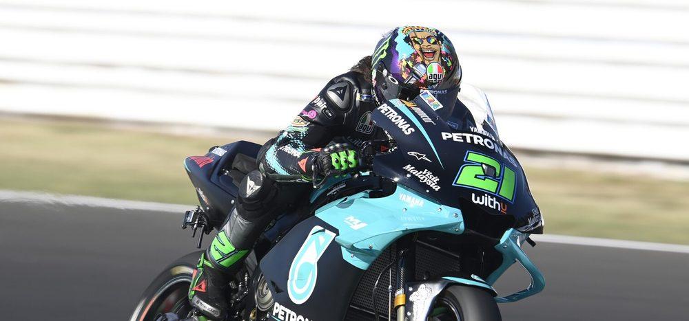 MotoGP: Franco Morbidelli feiert Debütsieg, Rossi verpasst Podium knapp