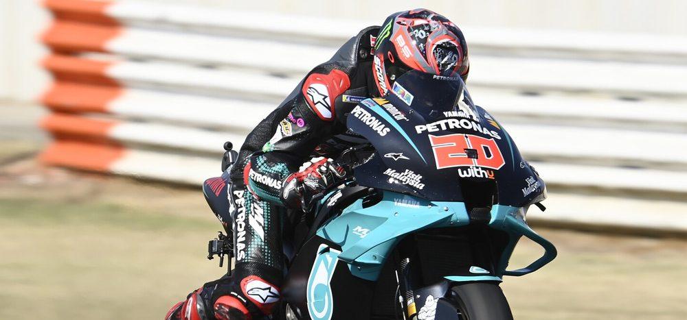 FP1 MotoGP Misano 2: Quartararo vor Morbidelli an der Spitze
