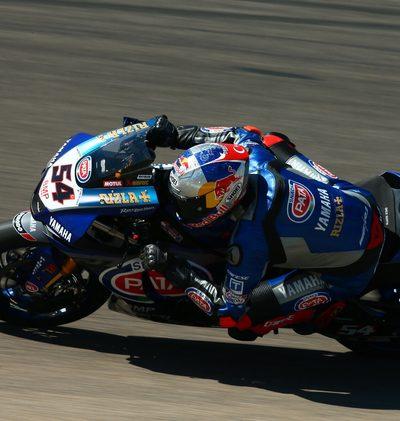FP1: Yamaha vorne