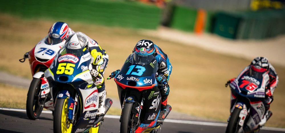 Rennen Moto3 Misano 2: Fenati gewinnt hart umkämpftes Finish