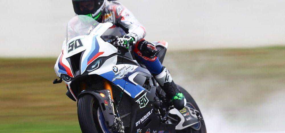 WSBK Magny-Cours: BMW auf der Pole, Ducati und Honda mit Problemen