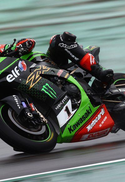 Kawasaki mit Doppelsieg