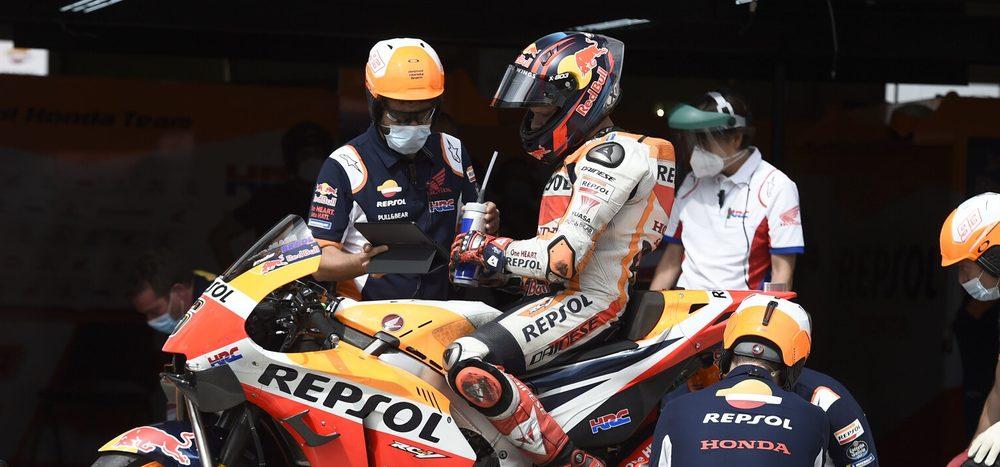 Portimao: MotoGP-Stammfahrer testen mit Superbikes die Strecke