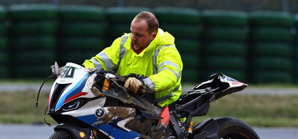 BMW in Magny-Cours: Großer Frust wegen Yamaha-Pilot
