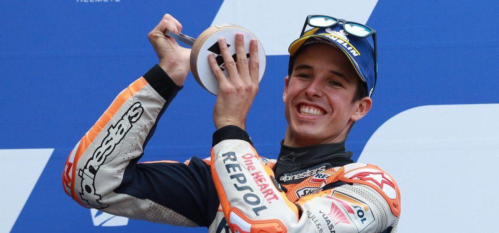 Erstes MotoGP-Podium: Marquez' starke Aufholjagd