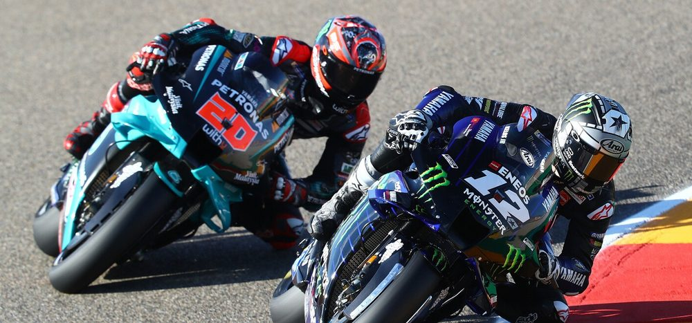 FP2 MotoGP Aragon: Yamaha auch am Nachmittag unbesiegt