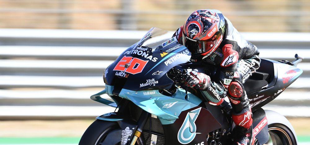Qualifying MotoGP Aragon: Quartararo trotzt Schmerzen – Dovizioso wütet