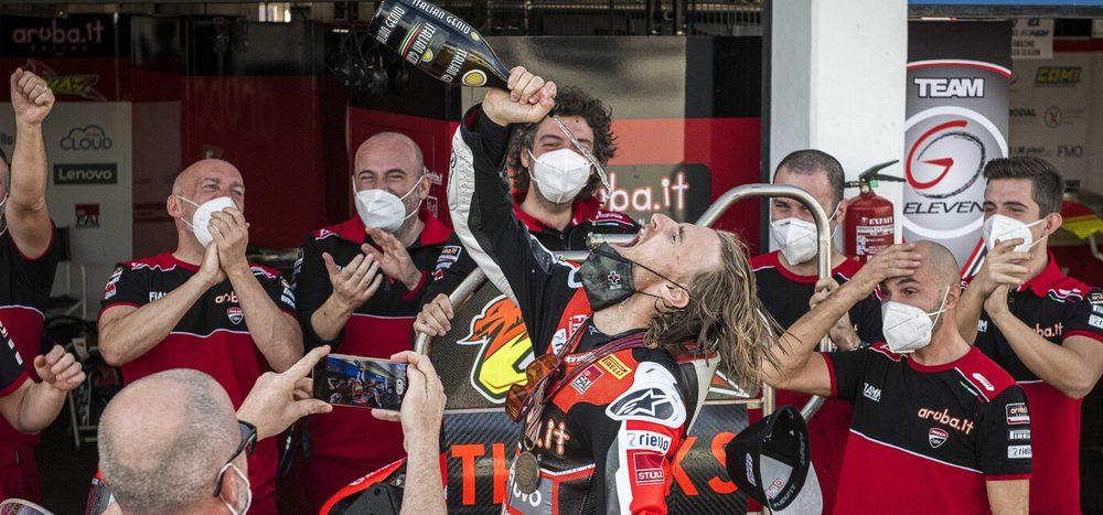 """Ducati-Technikdirektor: """"Ich hoffe, dass Chaz in unserer Familie bleibt"""""""