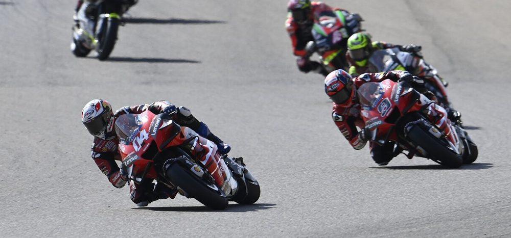 Ducati: Keine Teamorder für Petrucci und Dovizioso