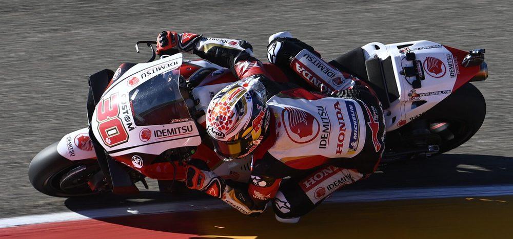 FP2 MotoGP Aragon 2: Nakagami toppt den Freitag, Ducati komplett verloren