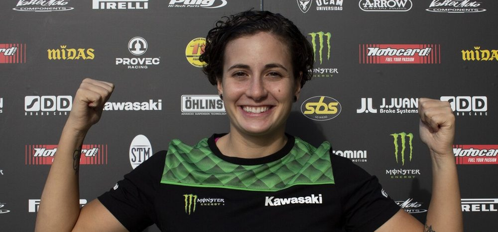 Nach Wirbelverletzung: Ana Carrasco arbeitet an Comeback