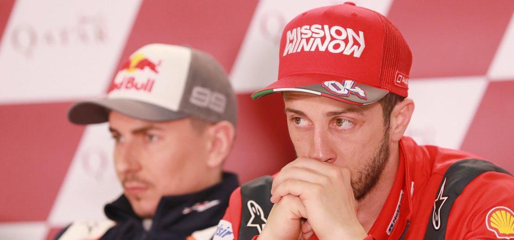 Lorenzo vs. Dovizioso: Emotionaler Streit ehemaliger Ducati-Piloten