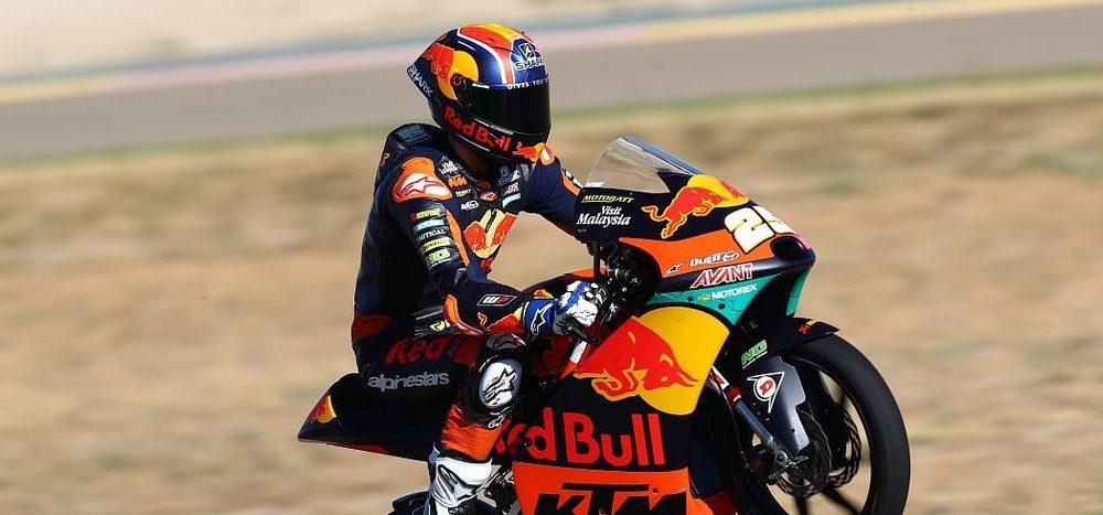 Rennen Moto3 Valencia 1: Fernandez triumphiert, WM weiter offen