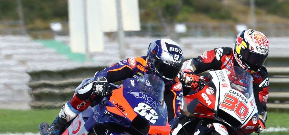 KTM mit allen drei Bikes in den Top 10