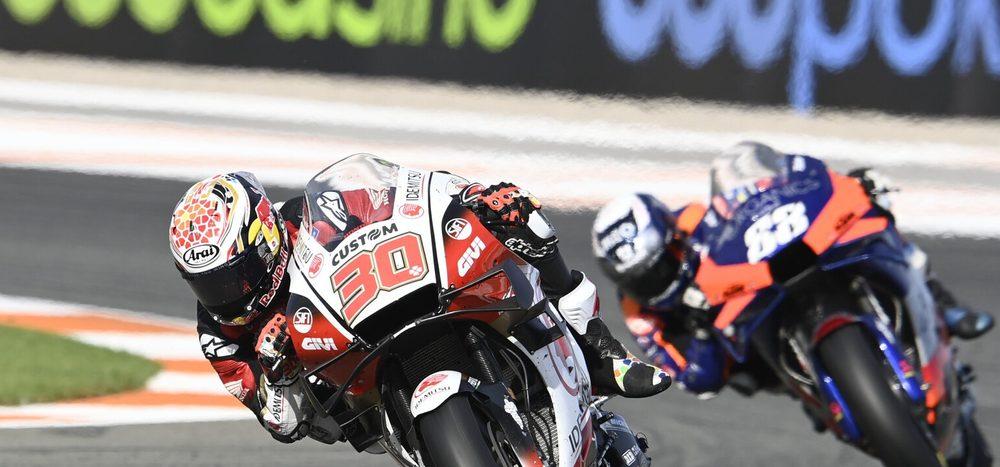 Honda in Valencia: Nakagami hadert mit P4, Bradl in den Punkten