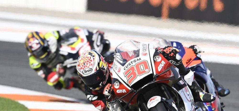 FP1 MotoGP Valencia 2: Nakagami beginnt mit Bestzeit