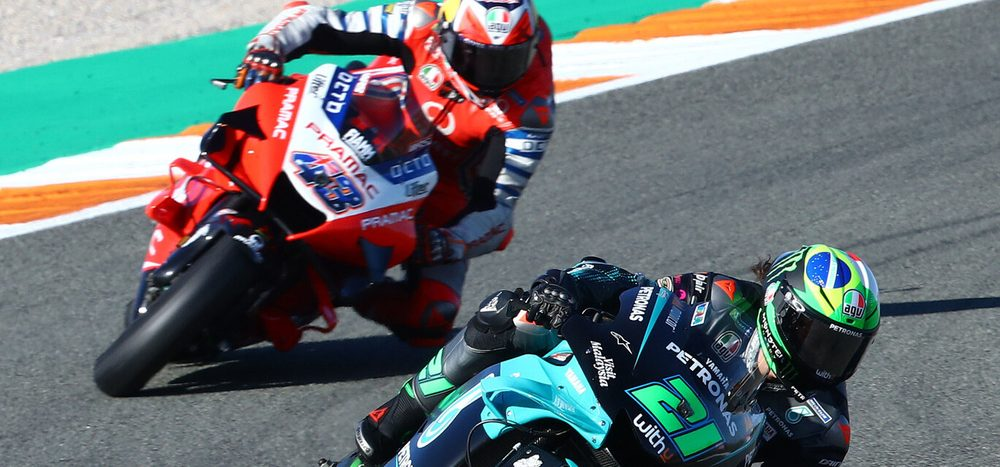 Morbidelli vs. Miller: Herzschlag-Finale beim Valencia-Grand-Prix