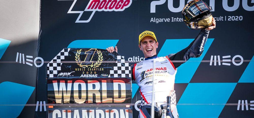 Moto3-Finale: Fernandez dominiert – Arenas Weltmeister