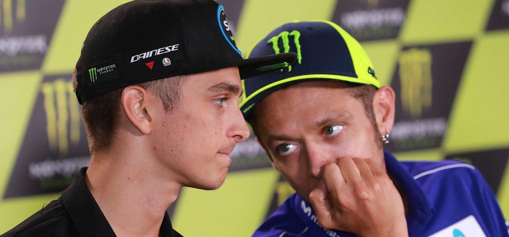 """Valentino Rossi über Luca Marini: """"War zuletzt schneller als ich"""""""