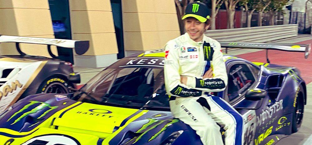 """Valentino Rossi bilanziert 12h Bahrain: """"Haben viel gelernt"""""""