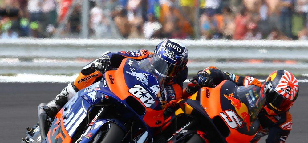 Oliveira fleißiger als Zarco bei Entwicklung der KTM RC16?