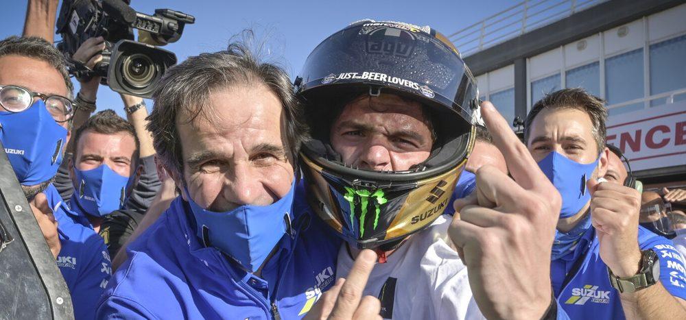 Suzuki will Teammanager Davide Brivio nicht ersetzen