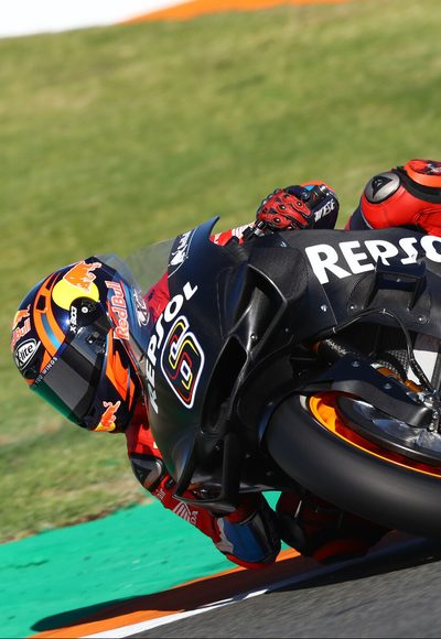 Test: MotoGP goes WSBK
