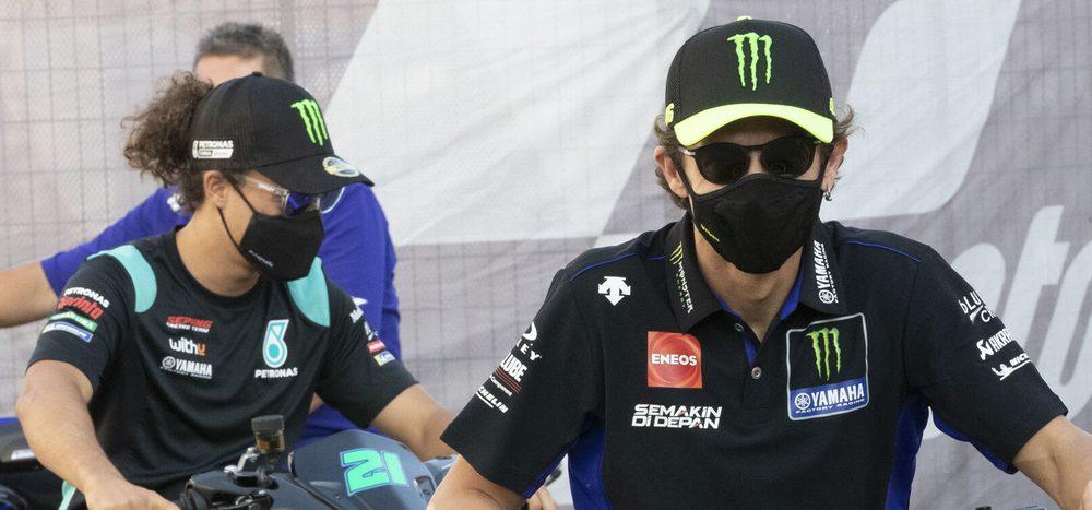 Rossi vs. Morbidelli: Kommt es zu Spannungen bei Petronas-Yamaha?